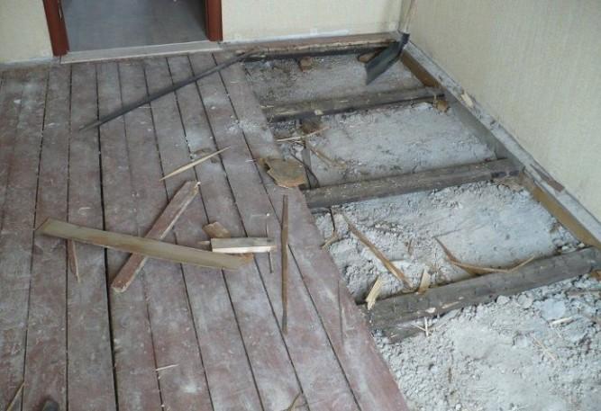 Основание непригодное для укладки плитки