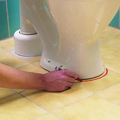 Как правильно положить плитку в туалете