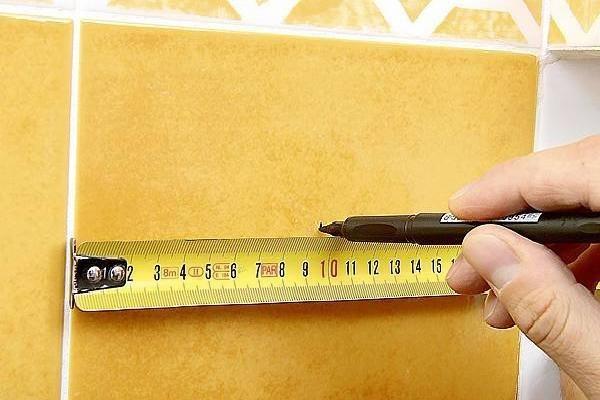 При выборе необходимо учитывать габаритные размеры плитки