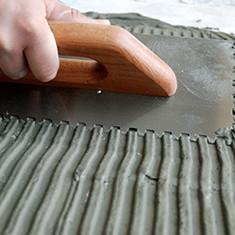 Выбор клея для керамической плитки