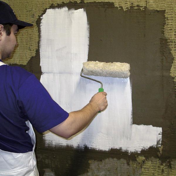 Стеновая поверхность подлежит обработке противогрибковыми средствами