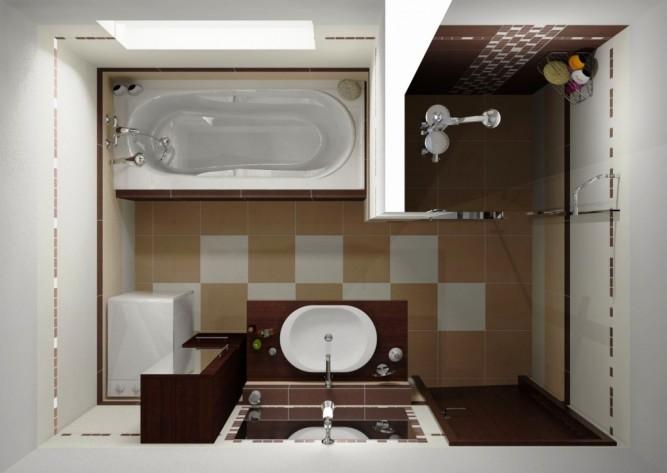 При выборе плитки необходимо учитывать размеры помещения