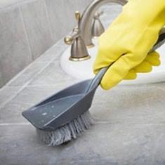 Как отмыть плитку до блеска