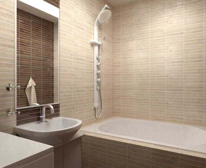 Плитка для маленькой ванной: какую выбрать