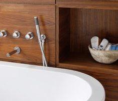 Чем отделать ванную комнату кроме плитки
