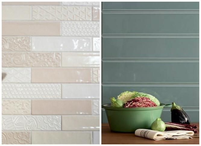 Разливают два основных вида глазурованной плитки