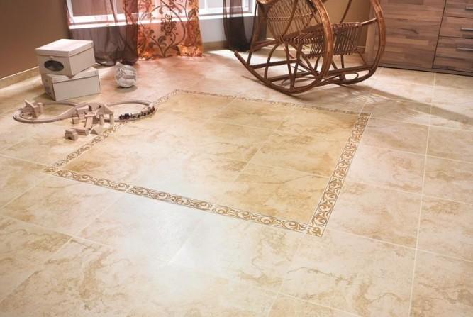 Важным свойством глазурованной плитки является прочность