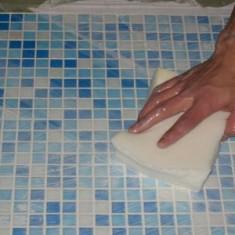 Как помыть плитку без разводов