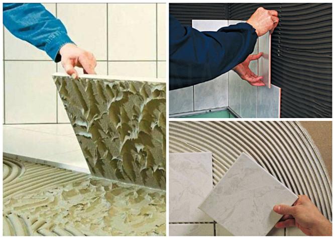 Расход клея на 1 м2 плитки: нормы и влияющие факторы