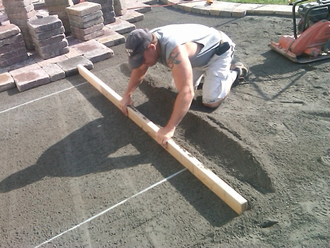 Подготовка основания для укладки плитки