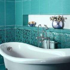 Габаритная плитка для ванной