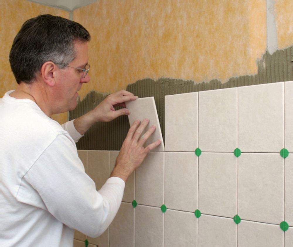 Плитка на стену в домашних условиях 186