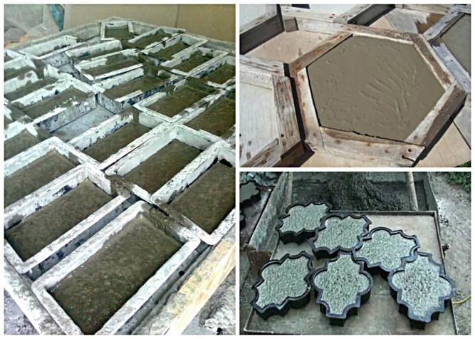 Пропорции раствора для тротуарной плитки в домашних условиях
