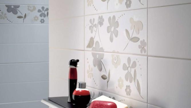 Кафельная плитка в ванной