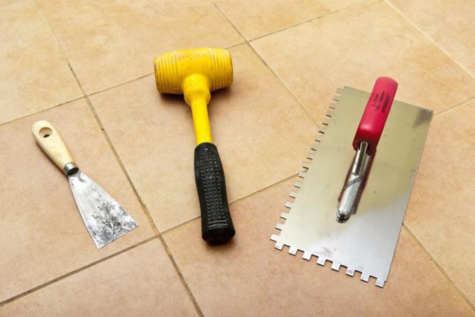 Приспособления для укладки плитки
