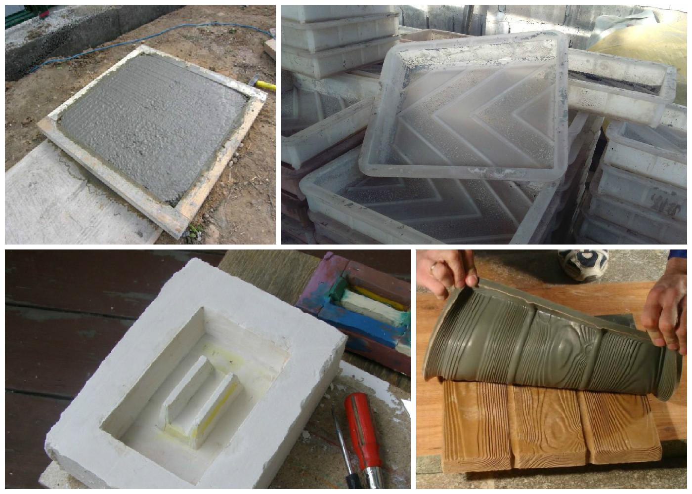 Как сделать тротуарную плитку в домашних условиях - несколько вариантов 15