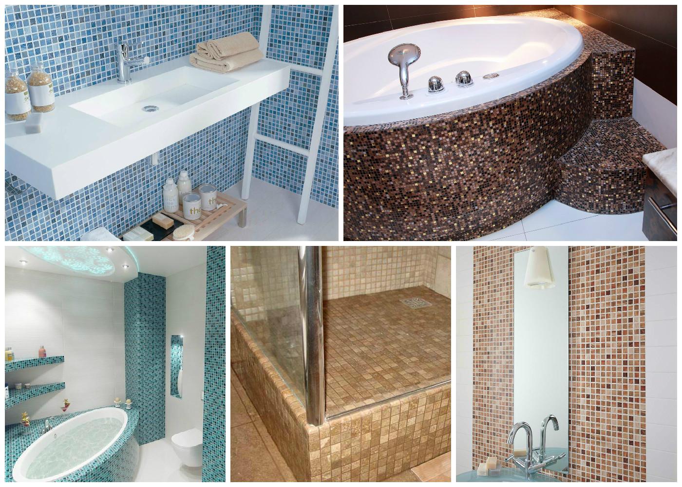 Плитка для ванны своими руками 44