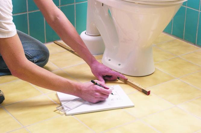 Установка сантехники в туалете