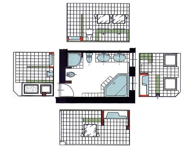 Как посчитать квадратные метры в ванной