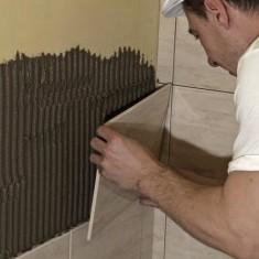 Оформение углов при укладке плитки