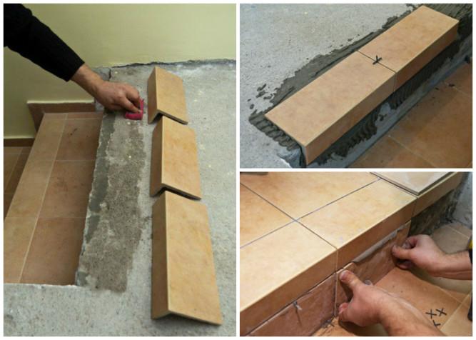 Как правильно класть плитку в углах