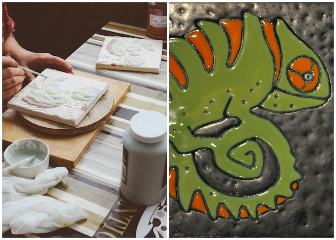 Изготовление керамическая плитка своими руками 83