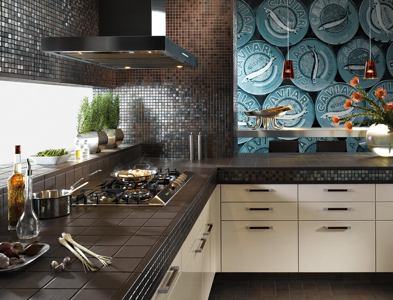 Мозаика фартук на кухню своими руками