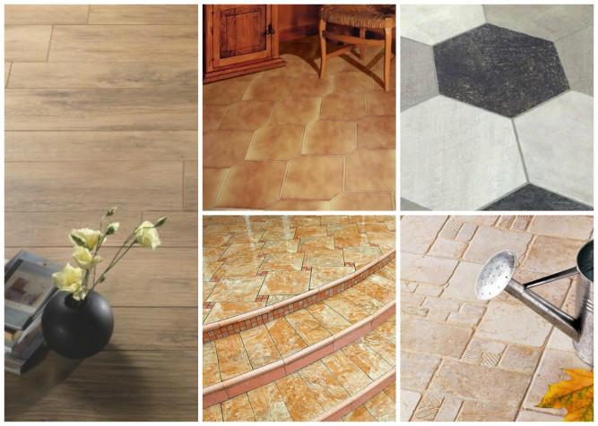 Разновидности форм керамогранитной плитки