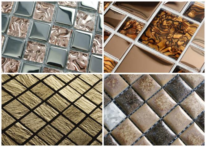 Разновидности материалов для мозаики