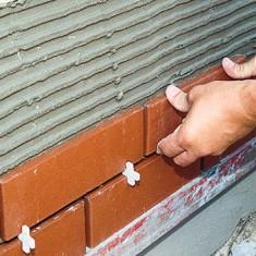 Укладка клинкерной плитки на фасад