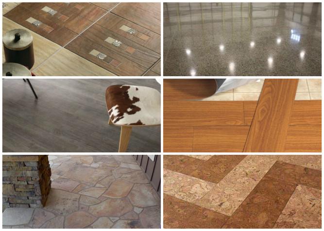 Разновидности материалов плитки