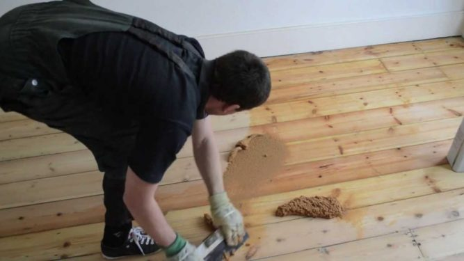 Штукатурка для деревянных покрытий