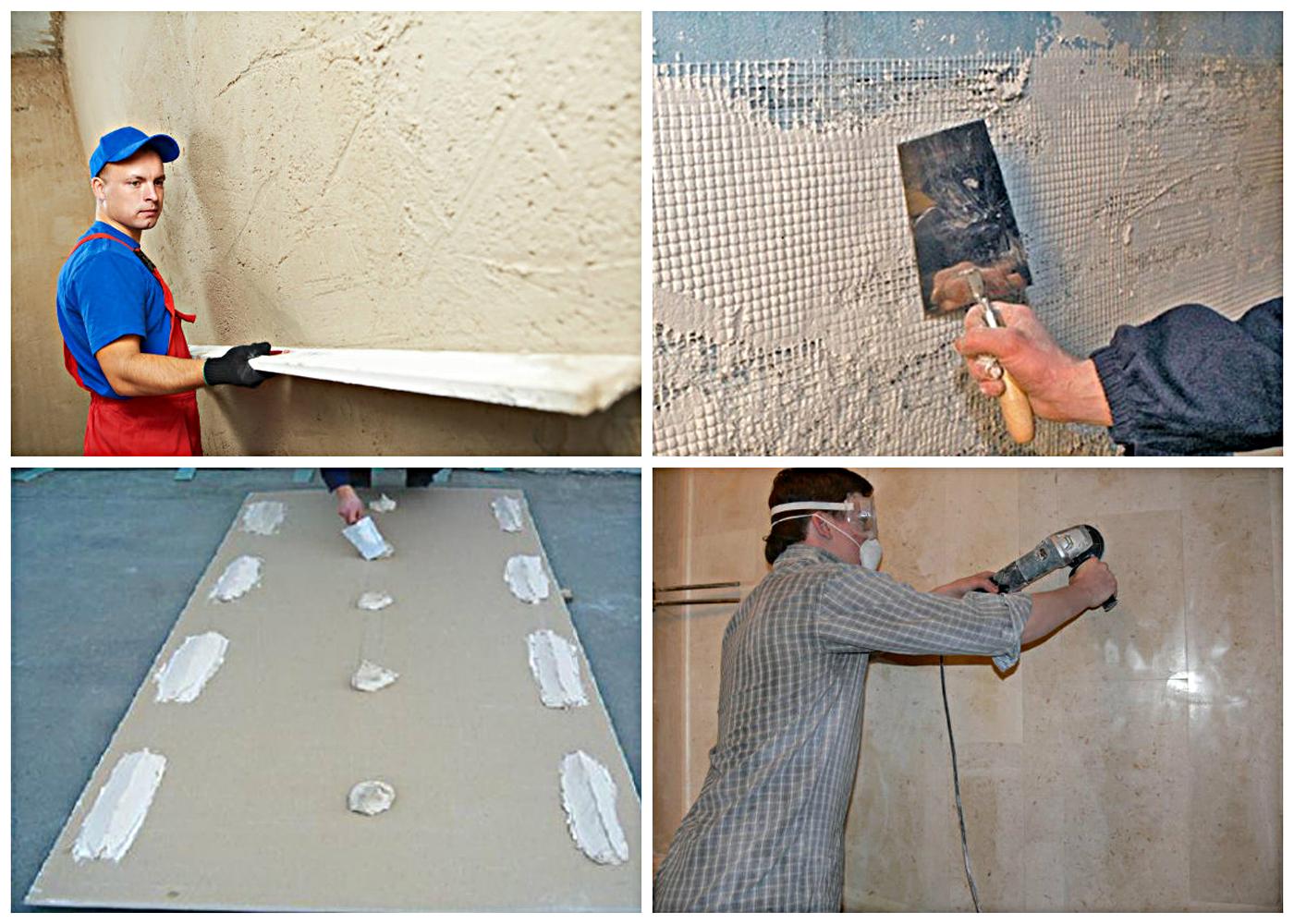 Ploščice postavimo na grobo steno