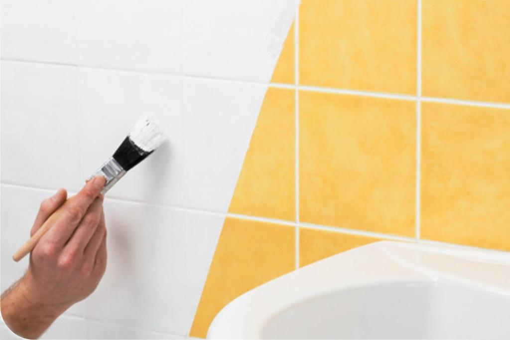 Покраска плитки на кухне и в ванной. Почему оно того стоит и о чем нужно помнить?