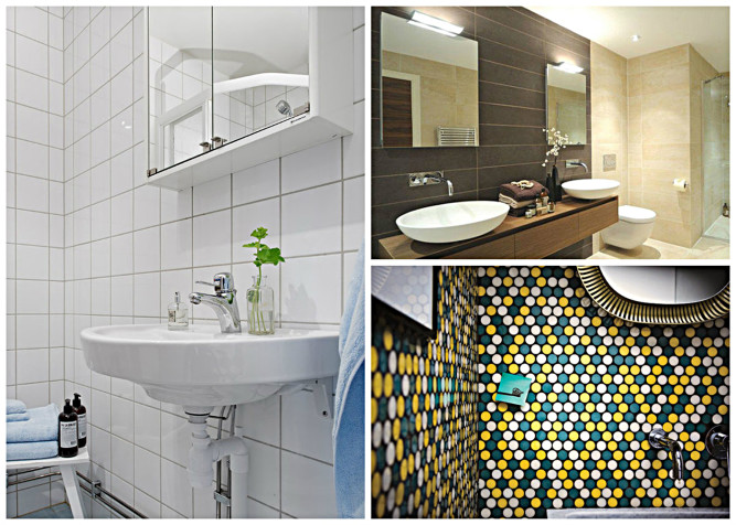 Variety of tile shapes