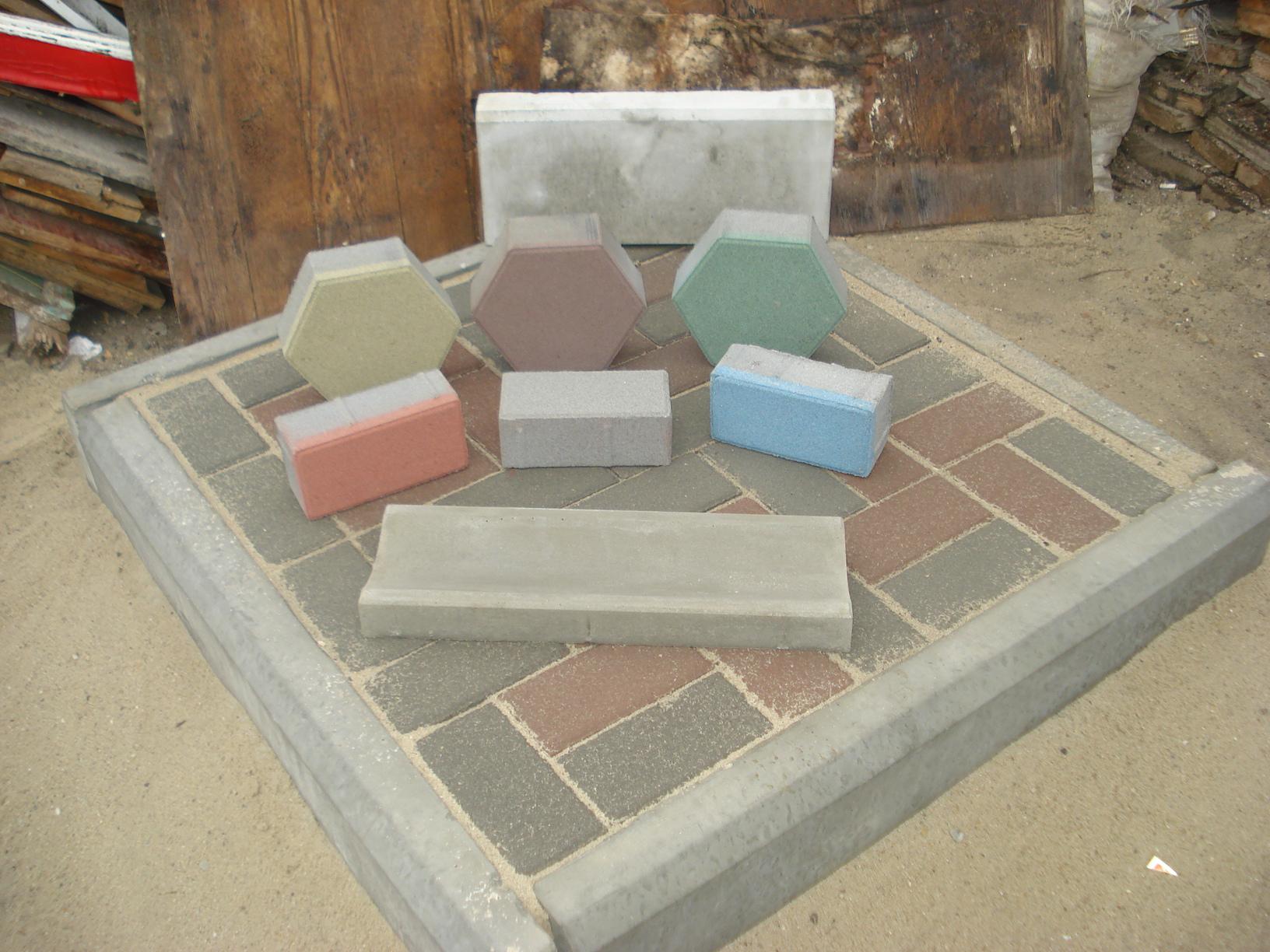 Изготовить тротуарная плитка своими руками