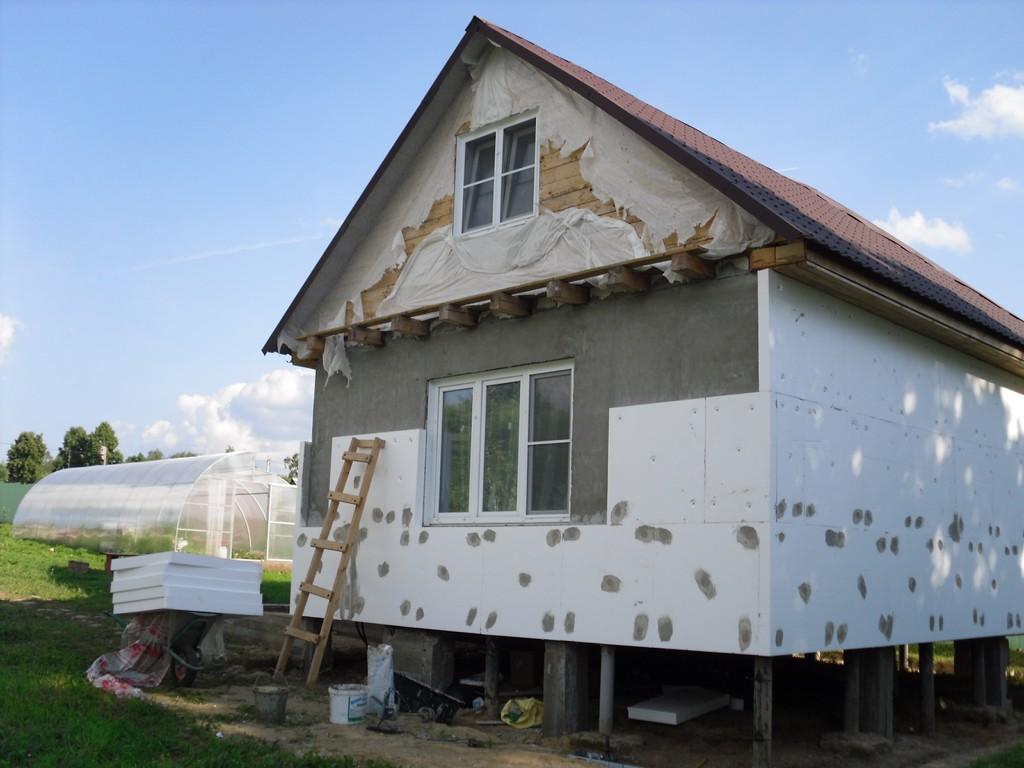 сравнению картинки фасада дома пенопласт крыльцо